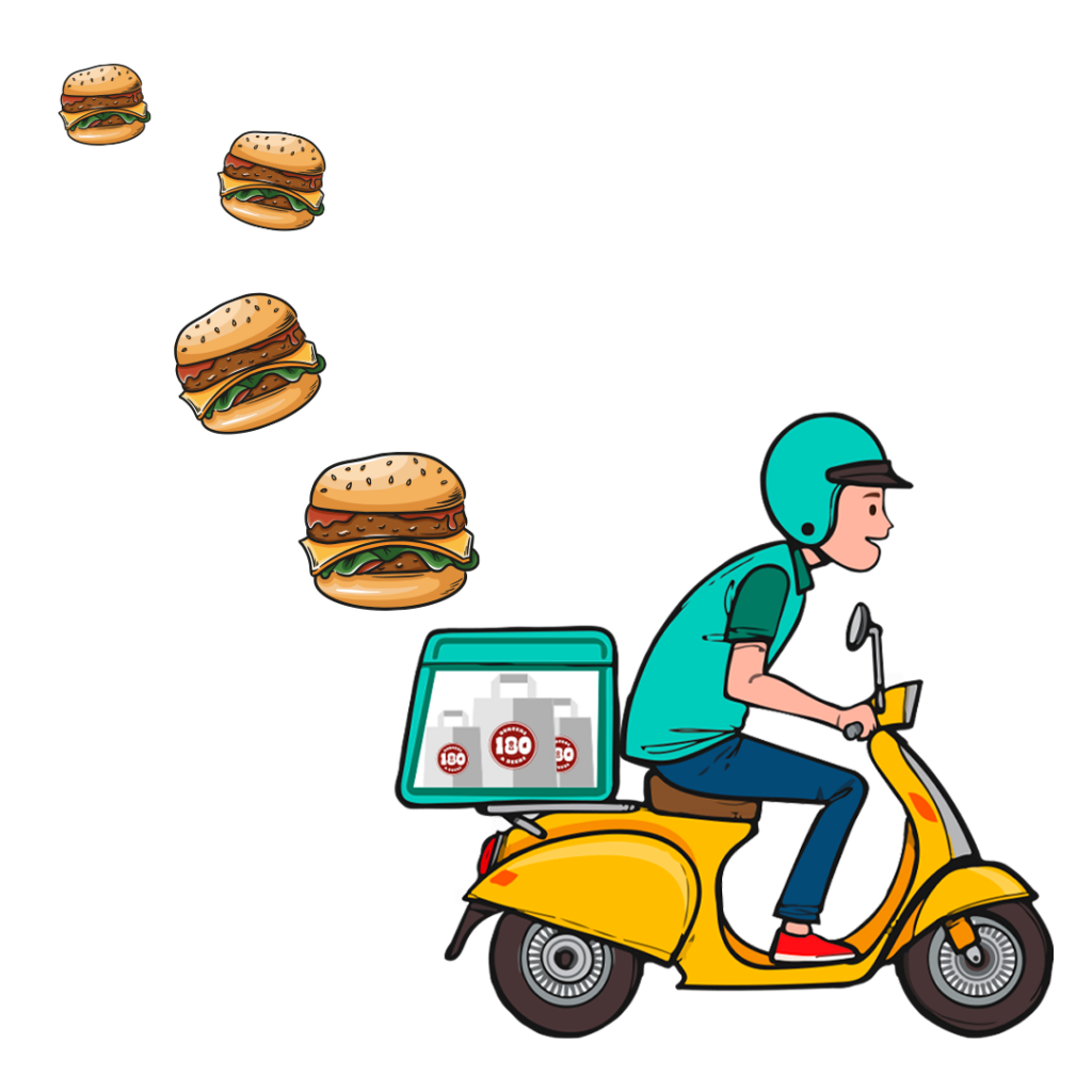 180 grammi burger a Firenze Delivery