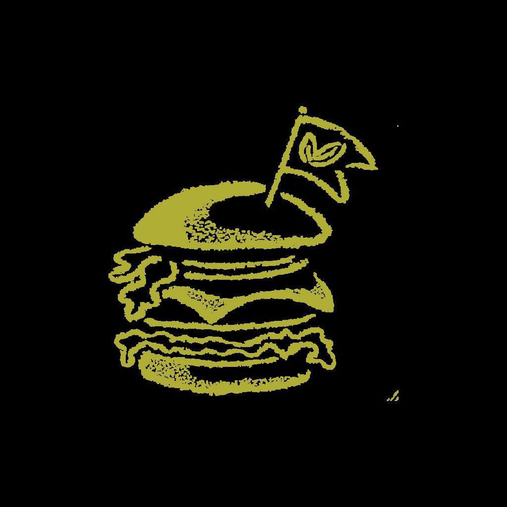 180 grammi burger a Firenze Vegan